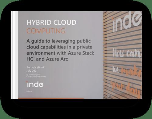 Hybrid Cloud eBook Mockup